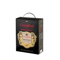 Вино Castelforte Rosso Veneto BIB IGT. Черв. сухе 13% 3л